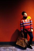 McGregor sweater - Primark jeans - All Saints boots - Clifton Village accessorie