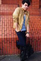 Oxygen jacket - American Apparel t-shirt - Primark jeans - Bertie shoes - All Sa