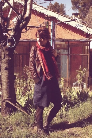 March scarf -  jacket -