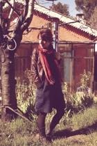 March scarf -  jacket -