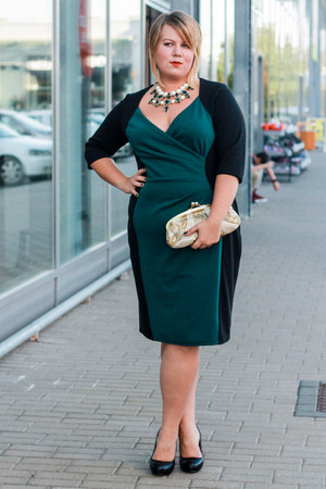 Scarlett&Jo dress - Mango bag - Zara necklace