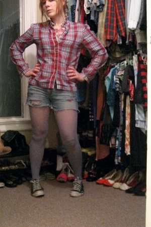 vintage - diy american eagle outfitters - DKNY - All Stars