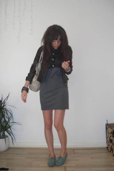 Primark jacket - mjm top - American Apparel dress