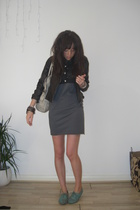 Primark jacket - mjm top - American Apparel dress
