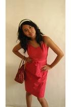 Gap dress - accessories - shoes - XOXO purse
