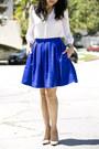 H-m-top-leith-skirt-christian-louboutin-heels-cartier-bracelet