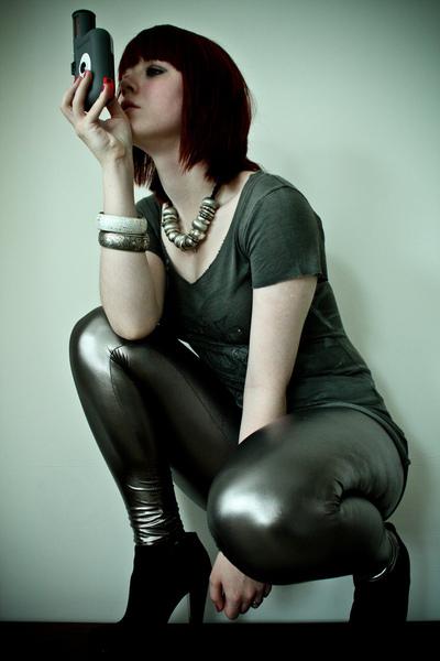 Topshop accessories - TK Maxx dress - asos leggings - Miss Selfridge & Primark a