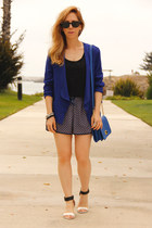 Wallis jacket - turnlock merona bag - Forever 21 shorts