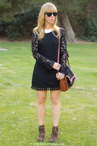 Fire Los Angeles dress - Forever 21 boots