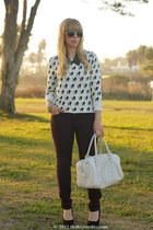 rag & bone jeans - studded H&M bag - spiked Bakers necklace