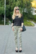 xhilaration jeans - brandy melville blouse