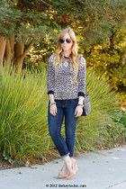 Old Navy jeans - J Crew sweater - Margiela for H&M heels