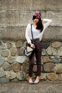 Hot-pink-diy-accessories-ivory-random-brand-sweater-dark-brown-pull-bear-pan