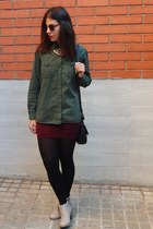 Zara shirt - Coolway boots - Mango bag - asos sunglasses - Primark necklace