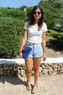 Forever-21-shorts-forever-21-top-bershka-sandals