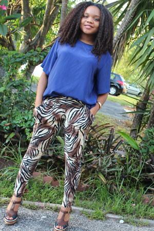 printed ShoSho pants - vintage shirt