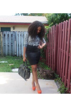 orange Dollhouse heels