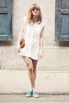 H&M dress - vintage bag - Topshop socks - asos sunglasses - asos loafers