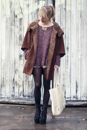 Zara jacket - brandy&amp;melville sweater - See by Chloe bag