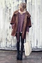 Zara jacket - brandy&melville sweater - See by Chloe bag