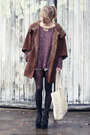 Zara-jacket-brandy-melville-sweater-see-by-chloe-bag