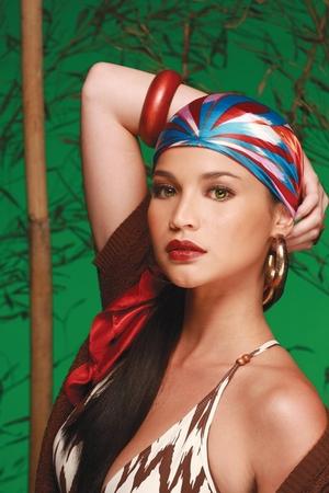 Zara dress - True Religion belt - H&M earrings - The Ramp scarf