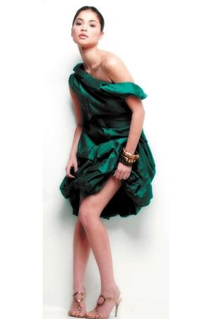 dress - Zara bracelet - Gucci shoes