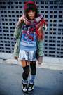 Red-wc-hat-army-green-wc-jacket-heather-gray-toms-house-sweatshirt