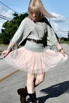pink Forever 21 skirt