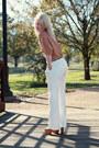 Camel-forever-21-top-white-new-york-company-pants-burnt-orange-dany-platfo