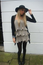 H&M dress - Primark cardigan - asos boots