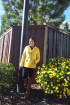 light yellow Old Navy coat