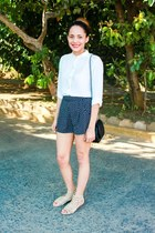 UrbanOG shorts - Forever 21 blouse - Urban Outfitters sandals