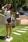 White-slip-bb-dakota-dress-karlas-closet-for-coach-bag-nude-slingbacks-gues