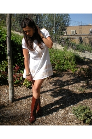 forever 21 dress - Kenneth Cole boots