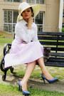 Thrifted-shirt-zara-skirt-charles-keith-pumps