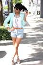 Aquamarine-h-m-blazer-sky-blue-floral-indie-go-shorts