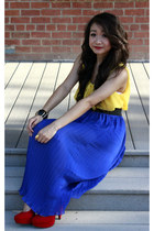 Forever 21 top - Forever 21 skirt - Forever 21 heels