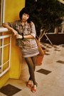 Light-blue-rodeo-jacket-blue-just-concept-dress-gray-magnolia-stockings-re