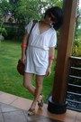 Red-mango-glasses-white-geometric-blouse-army-green-guess-shorts-brown-man