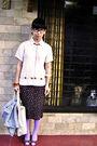 Black-unbranded-glasses-beige-express-shirt-brown-unbranded-skirt-purple-b