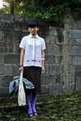 Black-unbranded-glasses-beige-express-shirt-brown-unbranded-skirt-purple-b