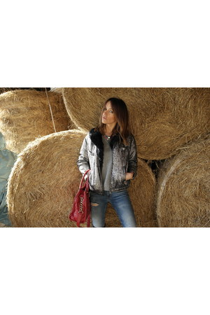 Isabel Marant for HM jacket - Zara jeans