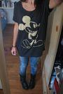 Black-hm-boots-black-hm-t-shirt-blue-zara-jeans