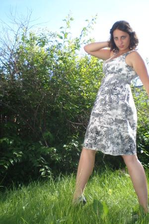 Sisley dress - Tommy Hilfiger shirt - Keds shoes