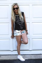 free people shorts - Urban Outfitters top