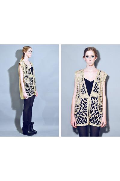 twice lux vintage vest