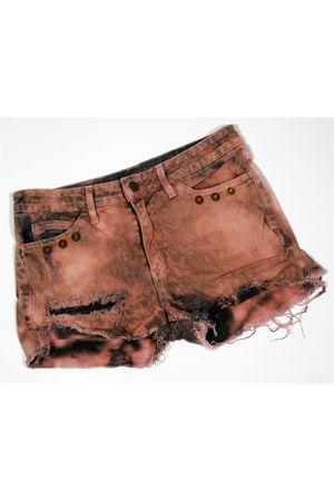 American Apparel shorts - f21 dress - vintage intimate