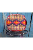 vintage colorful mexicana bag purse