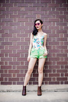 Bessie Floral Shaping Swimsuit